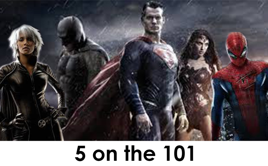 Catwoman, Batman, Superman, Wonder Woman and Spiderman ar portrayed by doubles and put into a real life or death situation.