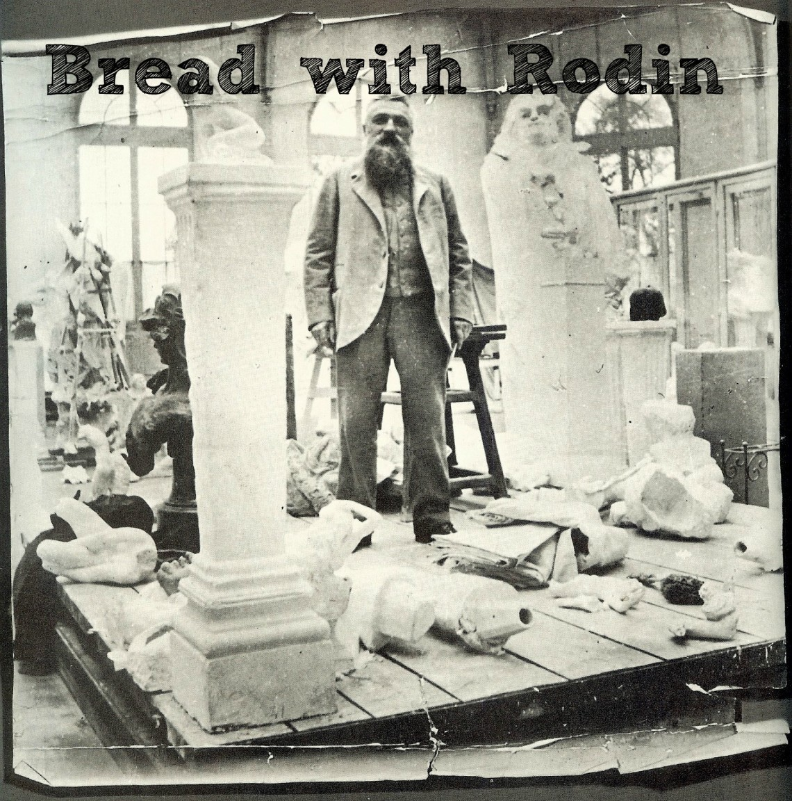 Bread with Rodin New Cover