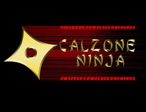 Logo for the business the main character in the short story Calzone Ninja will create for his brand.