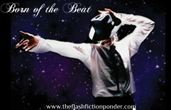Cover to the last post of the 24-hour Michael Jackson tribute, image showing MJ amongst the stars he came from.