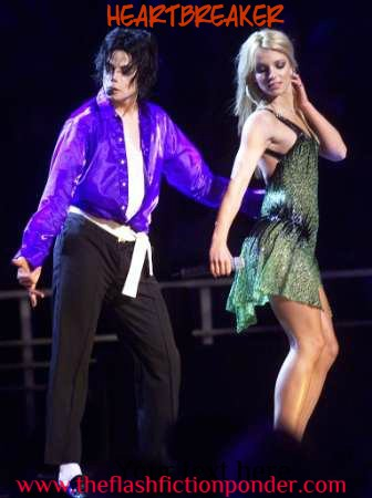Michael Jackson and Britney Spears for the music video script Heartbreaker.