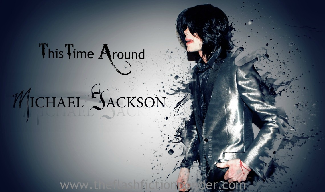 Michael Jackson in the image to This Time Around