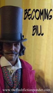 Bill the Butcher toy, as cover image to the short story Becoming Bill.