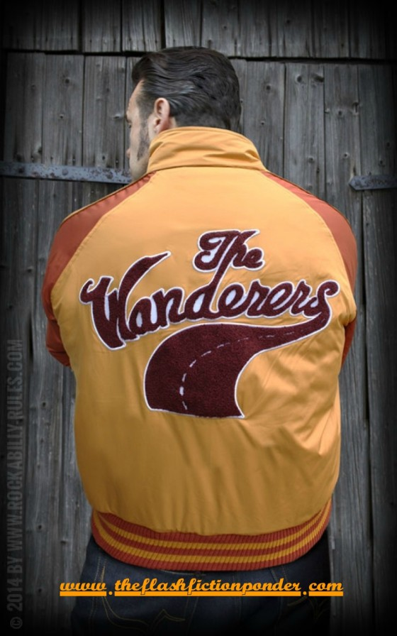 The Wanderers jacket, image for The Wanderer by Dion, music video script by Rico Lamoureux