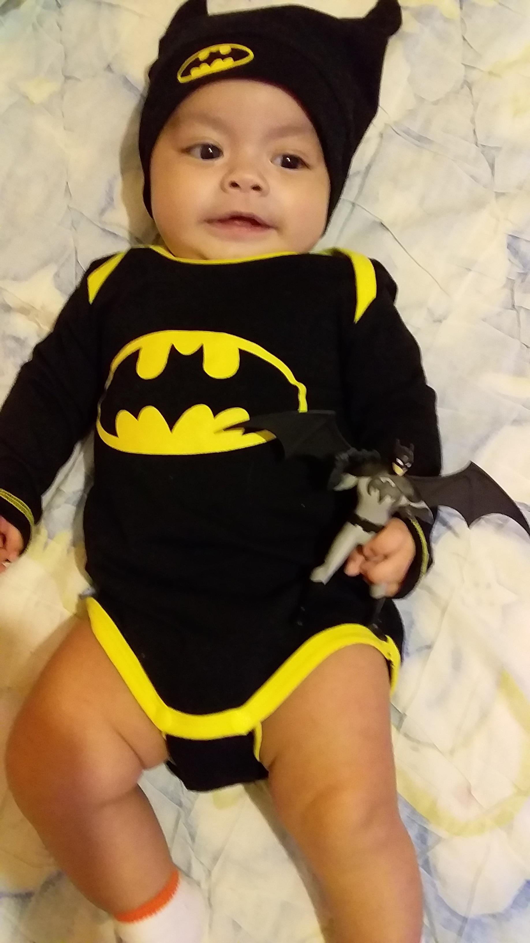 Journey Teller Lamoureux celebrates Batman Day!