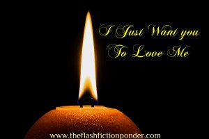 Image of a candle flame, for music video script 'I Just Want You To Love Me', song by Darren Hayes, script by Rico Lamoureux of The Flash Fiction Ponder.