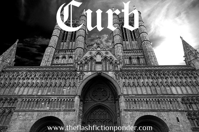 Gothic church, image for Curb by Nickelback, music video script written by Rico Lamoureux of The Flash Fiction Ponder.