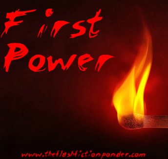 Fire flame, cover image for Eazy E First Power. Script written by Rico Lamoureux of The Flash Fiction Ponder.