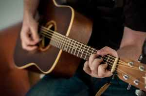 Playing guitar, Kenny Rogers Slow Dance More
