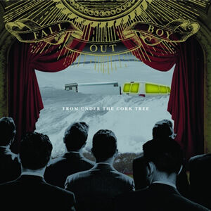 Fall Out Boy album cover, image for 'Champagne For My Real Friends, Real Pain for My Sham Friends', music video script written by The Flash Fiction Ponder.