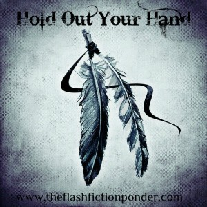 Indian Feather, image for 'Hold Out Your Hand', song by Nickelback, music video script by The Flash Fiction Ponder.