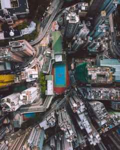 Birds-Eye-View city blocks