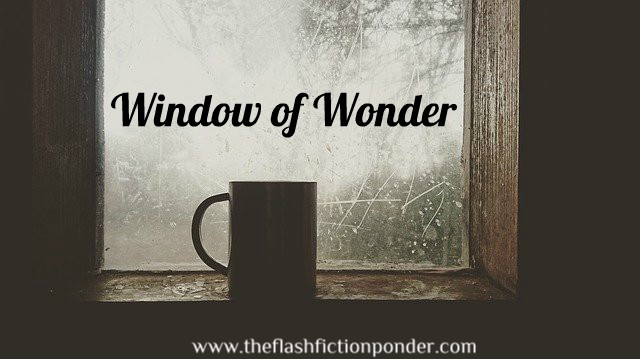 mug on window sill, for the short story, 'Window of Wonder'.