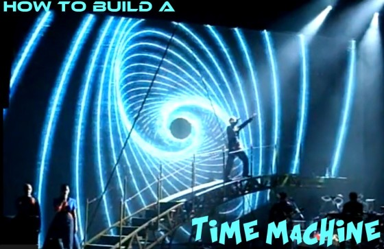 Darren Hayes singing 'How to Build a Time Machine', music video script by The Flash Fiction Ponder.