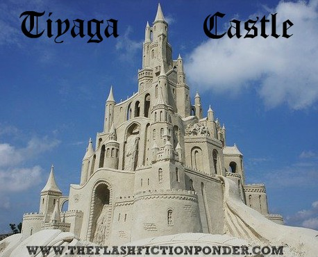 Sand castle, image for the short story 'Tiyaga Castle', about a grandfather and his grandson and their fight for freedom while amongst extreme lockdown measures.